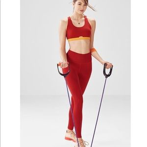 NWT Fabletics Holt Electra Bra & leggings Set